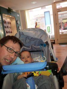 Phil und Ich :-) bei unserer ersten gemeinsamen Babysitter Stunde