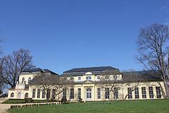 Orangerie Altenburg im Frühjahr 2013