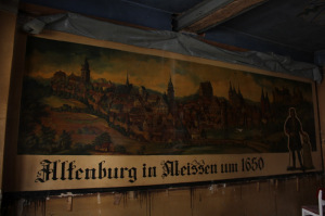 Weißes Ross Altenburg - Wandgemälde