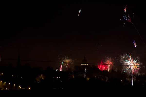 Feuerwerk über Altenburg (Foto: der uNi)