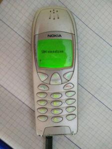 Mein Nokia 6210 - ab jetzt wieder Seite an Seite (Foto: der uNi)