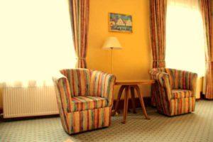 Zimmer im Hotel International (Foto: der uNi)