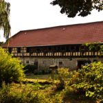 Laubengang im Rittergut Schwanditz