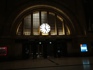 Hauptbahnhof in Leipzig